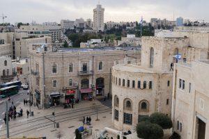 Blick auf Jerusalem Neustadt