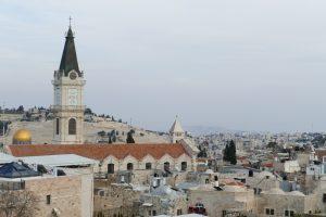 Altstadt von Jerusalem - Blick vom Norden
