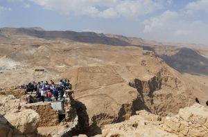 Massada - Blick Richtung Westen