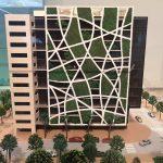 Modell des neuen Check Point Buildings